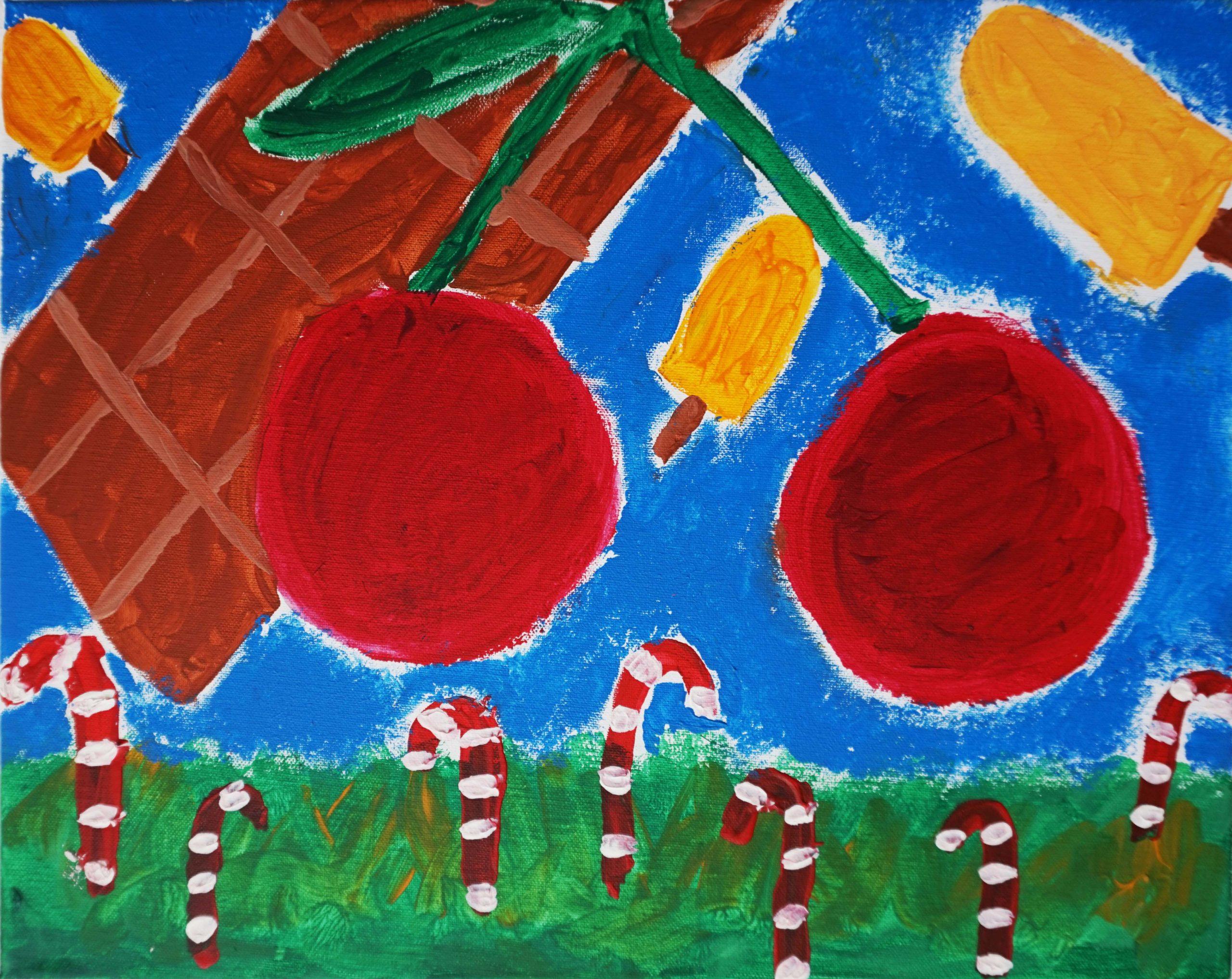 Painting Mariela
